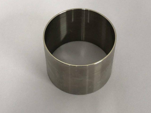 チタン旋盤加工品-スリーブ-
