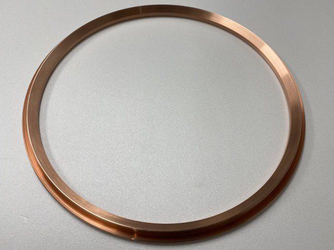 C1100タフピッチ銅製 薄肉リング