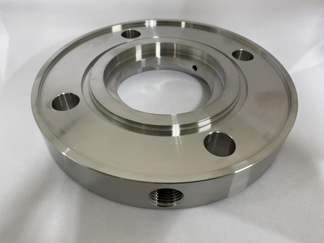 ハステロイ(アロイC276)旋盤加工品‐グランドプレート‐
