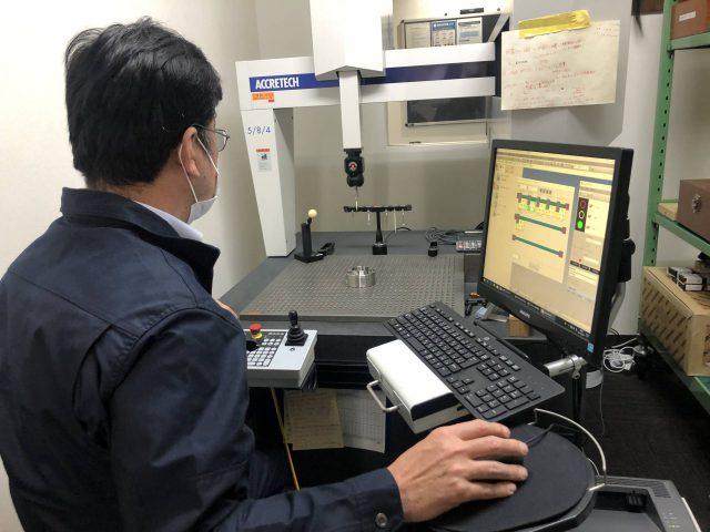 20℃で温度管理された恒温室環境下で検査保証